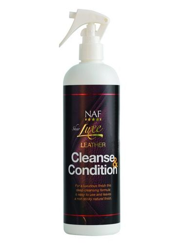 NAF Sheerluxe Leather Cleanse & Condition -nahanpuhdistusaine